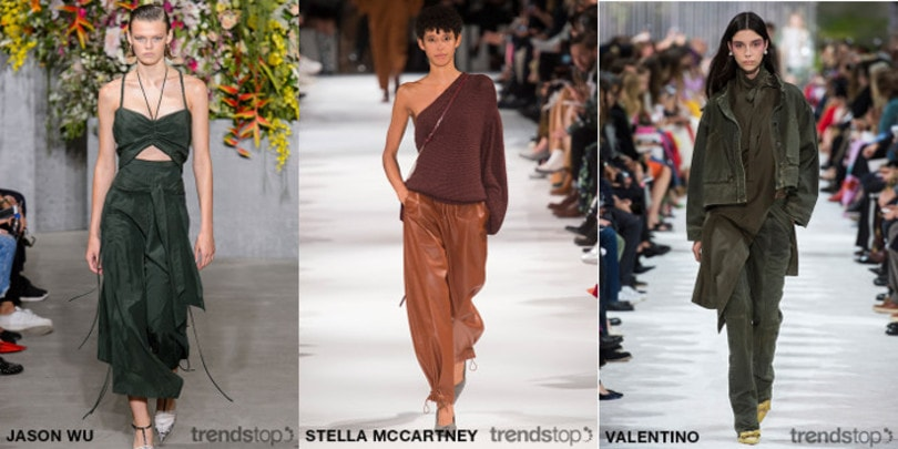 Womenswear S/S 2019 Macro Color and Style Trends