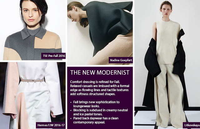 New Modernist Women's Fashion Trends F/W 2017-2018