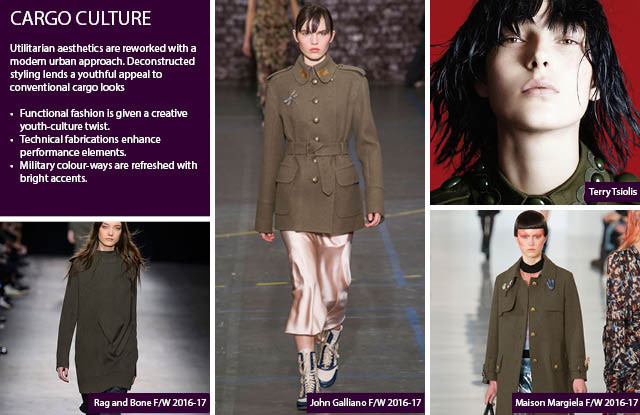 Cargo Culture Women's Fashion Trends F/W 2017-2018
