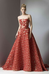Antonio's Couture Fall/Winter 2016 Strapless Evening Gown