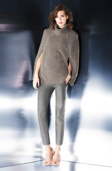 Escada Knit Cape with Optional Pants