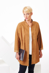 Algo Spring/Summer 2017: Lightweight suede jacket
