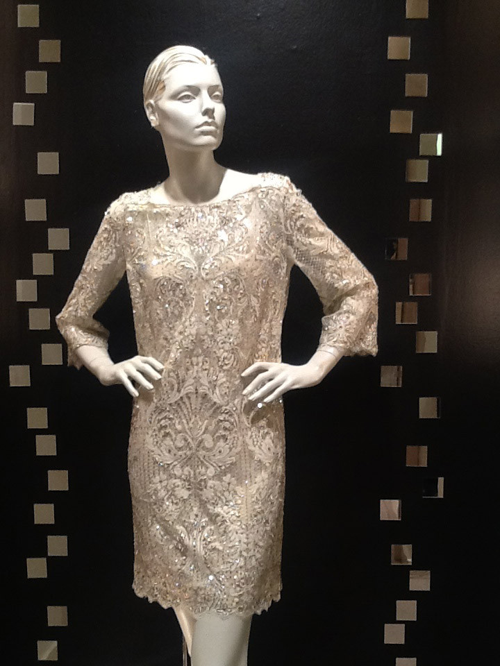 7ef995b6db8 ... Marchesa Embroidered Lace Dress/Tunic. Image 1