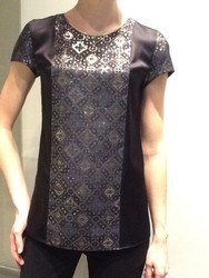 Georges Rech Jacquard Mosaic Top