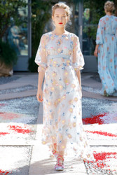 Luisa Beccaria Spring 2018 Ready To Wear Look 12