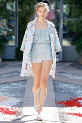 Luisa Beccaria Spring 2018 Ready To Wear Look 8