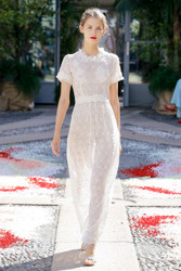 Luisa Beccaria Spring 2018 Ready To Wear Look 1