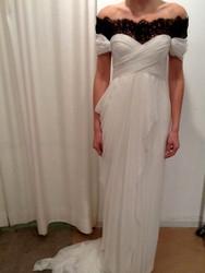 Marchesa Lace Chiffon Gown
