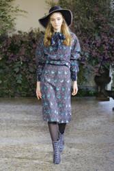 Luisa Beccaria Fall / Winter 2018 Ready To Wear Look 16
