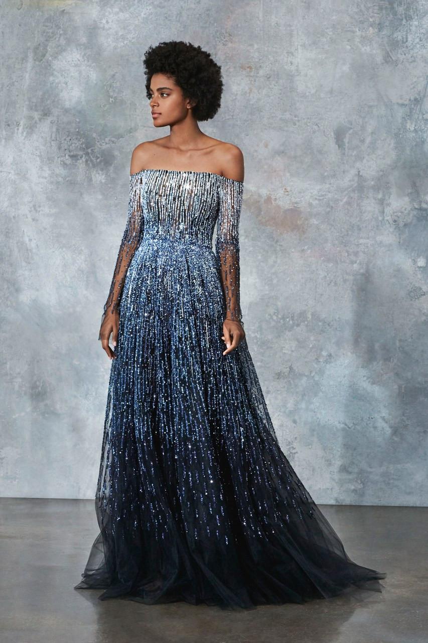 c18a9552 Pamella Roland Ready To Wear 2019 Look 17 - Vivaldi Boutique
