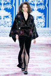 Naeem Khan Fall 2019 Evening Wear Look 12