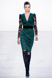 Badgley Mischka Fall 2019 Evening Wear Look 12