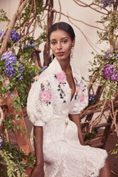 Marchesa Fall 2019 Evening Wear Look 10