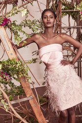 Marchesa Fall 2019 Evening Wear Look 9