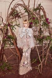 Marchesa Fall 2019 Evening Wear Look 6