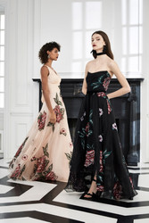 Marchesa Notte Fall 2019 Evening Wear Look 2