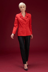 Algo Of Switzerland Silk Jacket With Silk Pants