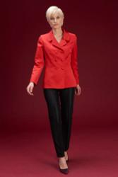 Algo Of Switzerland Silk Jacket With Silk Pants