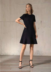 Georges Rech Skater Wool Dress