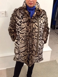 Givi Animal Print Quilted Jacket