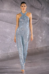 Naeem Khan Spring 2020 Evening Gown Look 17