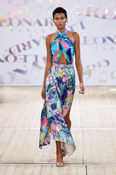 Leonard of Paris Spring 2020 Ready To Wear Look 12