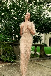 Marchesa Spring 2020 Evening Wear Look 9