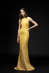 Yolan Cris Spring 2020 Evening Wear Look 14