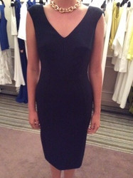 Amanda Wakely Black Sleeveless Dress