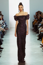 Badgley Mischka Fall 2020 Evening Wear Look 20