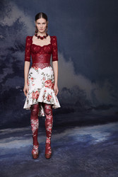 Marchesa Fall 2020 Evening Wear Look 18