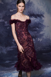 Marchesa Fall 2020 Evening Wear Look 17