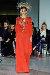 Naeem Khan Embroidered Caftan