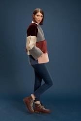 Algo Of Switzerland Reversible Lamb and Leather Jacket