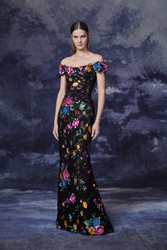Marchesa Fall 2020 Evening Wear Look 16