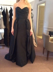 Catherine Regehr Sleeveless Black Evening Gown