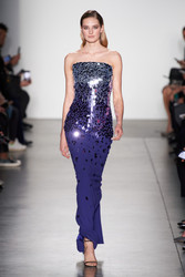 Pamella Roland Fall 2020 Evening Wear Look 12