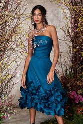 Marchesa Notte Fall 2020 Evening Wear Look 12