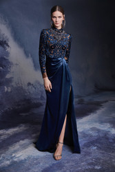 Marchesa Fall 2020 Evening Wear Look 11