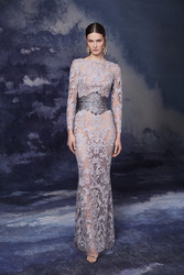 Marchesa Fall 2020 Evening Wear Look 10