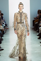 Badgley Mischka Fall 2020 Evening Wear Look 11