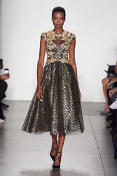 Pamella Roland Fall 2020 Evening Wear Look 2