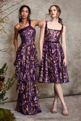 Marchesa Notte Fall 2020 Evening Wear Look 8