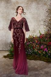 Marchesa Notte Fall 2020 Evening Wear Look 4
