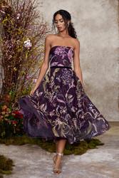 Marchesa Notte Fall 2020 Evening Wear Look 3