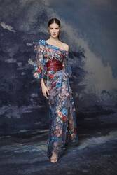 Marchesa Fall 2020 Evening Wear Look 4