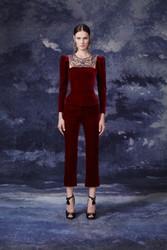 Marchesa Fall 2020 Evening Wear Look 2