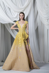 Tony Ward Look 22: Gradient Tulle Dress