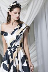 Tony Ward Look 19: Satin Duchesse Gown