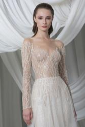 Tony Ward Look 17: Off-White Tulle Dress